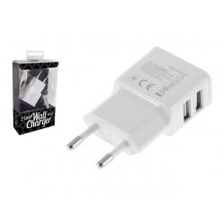 CARICA BATTERIE 2 USB 2,1 A