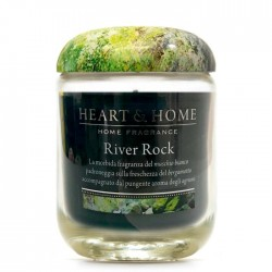 RIVER ROCK- SMALL CANDLE 115g