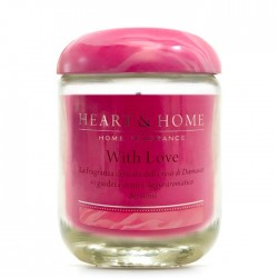 WITH LOVE- SMALL CANDLE 115g