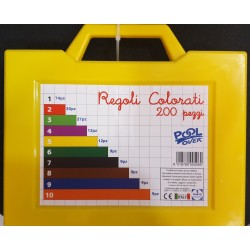 REGOLI COLORATI EURO PZ.200