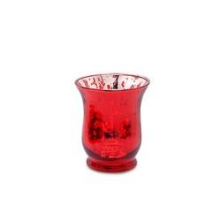 Bicchiere porta candela in...